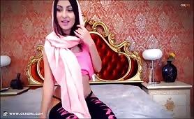 MuslimAishaa   CKXGirl™   LIVE Arab Webcam   www.ckxgirl.com