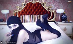 ArabianMalikah | CKXGirl™ | HEELS Bodysuit | www.ckxgirl.com