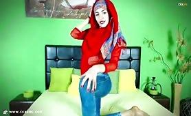 ZeiraMuslim | CKXGirl™ | Blue Denim Jeans | www.ckxgirl.com