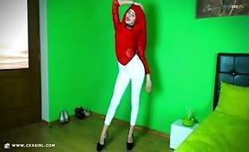 ZeiraMuslim | CKXGirl™ | White Jeans | www.ckxgirl.com
