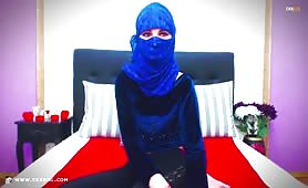 AbyahMuslim | CKXGirl™ | Blue Hijab & Niqab Veil | www.ckxgirl.com