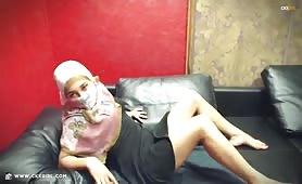 AmiraSerious | CKXGirl™ | Black Dress & Showing Hair | www.ckxgirl.com