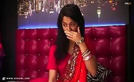 DevikaChaste | CKXGirl™ | Pakistani Desi Red Sari | www.ckxgirl.com