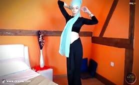 JasminMuslim | CKXGirl™ | Velvet Top & Skirt | www.ckxgirl.com