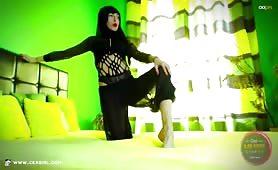 ZeiraMuslim | CKXGirl™ | Niqab Ninja Feet | www.ckxgirl.com