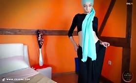 JasminMuslim | CKXGirl™ | Black Dress & Crop Top | www.ckxgirl.com