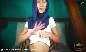 YasminaMuslim | CKXGirl™ | White Top & Boobs | www.ckxgirl.com