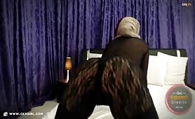 Muna aka muslimgirll | CKXGirl™ | Laced Leggings | www.ckxgirl.com