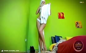 ZeiraMuslim | CKXGirl™ | White Hijab & Thong Strip | www.ckxgirl.com