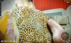 JasminMuslim | CKXGirl™ | Twerking Leopard Skirt | www.ckxgirl.com