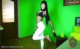 ZeiraMuslim Hijab White Leggings! | CKXGirl™ | PRIVATE SHOW | www.ckxgirl.com