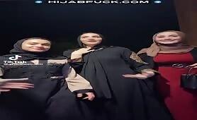 TikTok 3 Arab White Girl Muslims